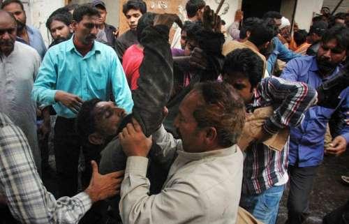 لاہور،یوحنا آباد چرچ پر حملہ ..