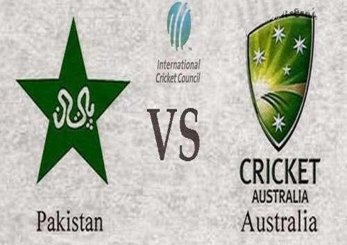پاکستان اور آسٹریلیا کے کھلاڑیوں ..