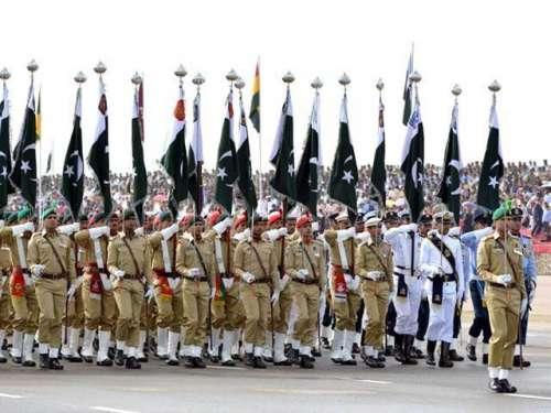 ملک بھر میں 75 واں یوم پاکستان ..