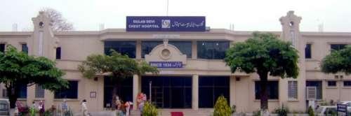 لاہور: گلاب دیوی ہسپتا ل میں ..