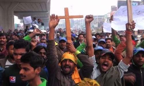 لاہور : سانحہ یوحنا آباد میں ..