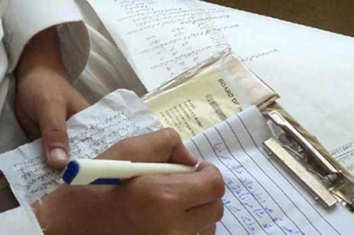 سندھ بھر میں جاری میٹرک امتحانات ..