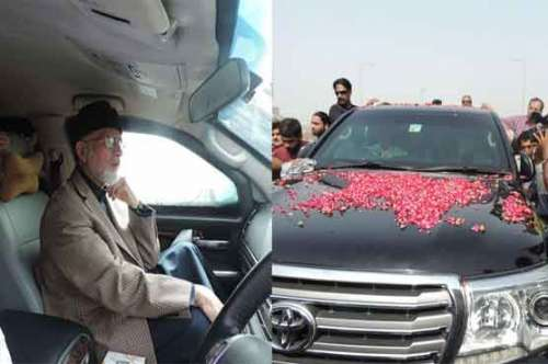 لاہور : طاہر القادری  لندن سے ..