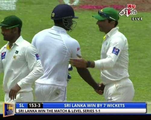 سری لنکا نے کولمبو ٹیسٹ 7وکٹوں ..