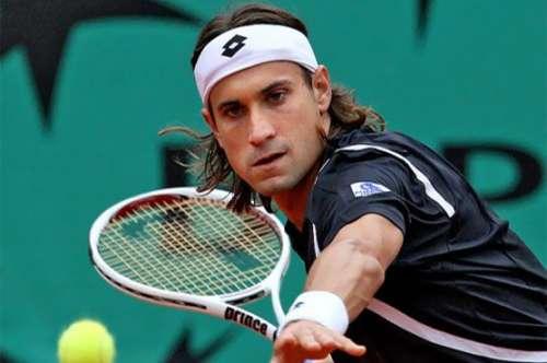 ڈیوڈ فیرر نے ومبلڈن ٹینس 2015 میں ..