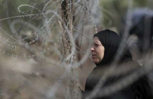 فلسطینی خاتون نے اسرائیلی خاتون ..