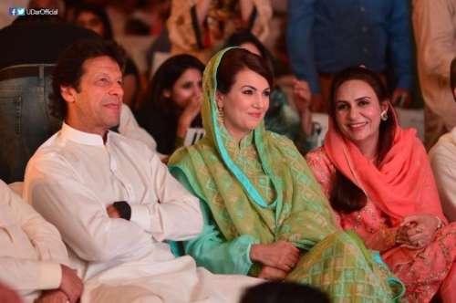 ''میں ریحام خان کی شکل بھی ..