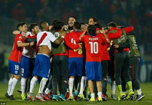 کوپا امریکہ:چلی نے پیرو کو ہرا ..