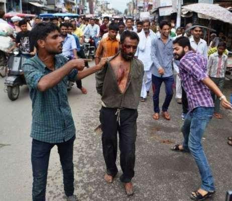 بھارت میں مسلمان شہری پر ہندو ..