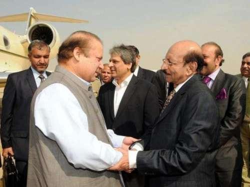کراچی : وزیر اعظم نواز شریف آج ..