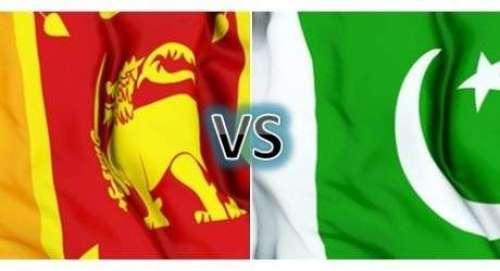 سری لنکا اور پاکستان کے درمیان ..