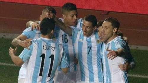 ارجنٹائن کی ٹیم کوپا امریکا ..