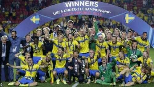 سویڈن نے انڈر 21 یورپی فٹبال چیمپئن ..