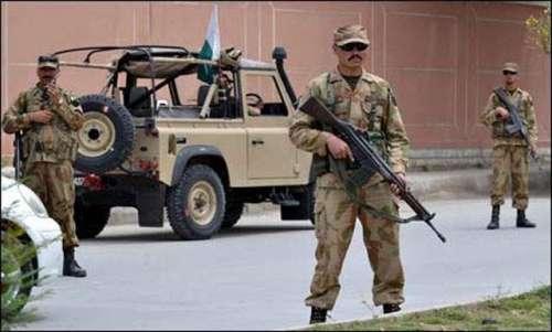 اسلام آباد میں فوج کی تعیناتی ..