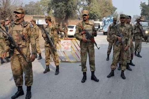 اسلام آباد میں پاک فوج کے قیام ..