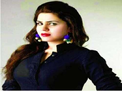 فلم سٹار سنہر ی خان عید کے اسٹیج ..