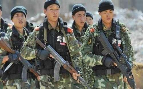 چین نے آزادکشمیر میں اپنے فوجیو ..