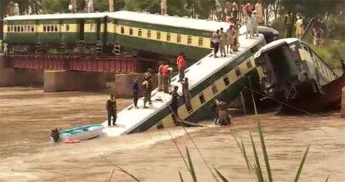 گو جرانوالہ : ٹرین حادثے میں ..