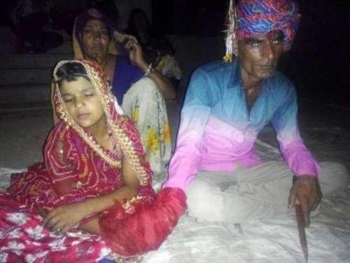 35 سالہ شخص کی 6 سالہ بچی سے شادی