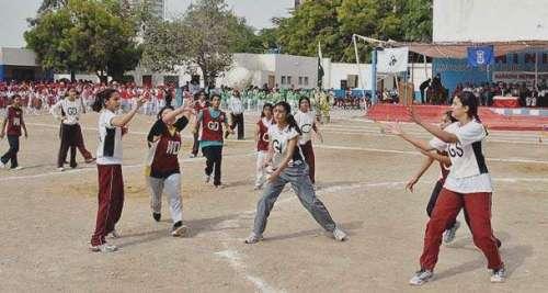 قومی ویمن نیٹ بال ٹیم کا تربیتی ..