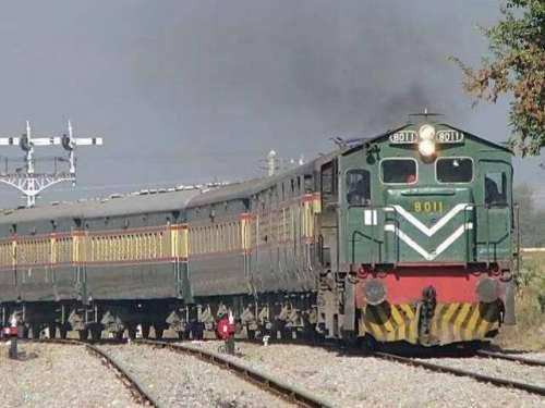 قلعہ عبداللہ میں ٹرین یرغمال ..