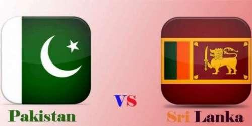 پاکستان کا سری لنکا کے خلاف ون ..