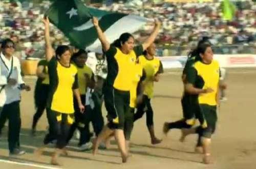 پاکستانی خواتین کھلاڑی کسی سے ..