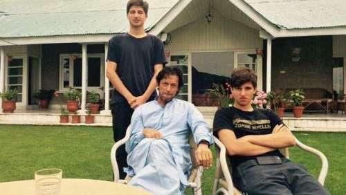 عمران خان کے بیٹوں نے پاکستان ..