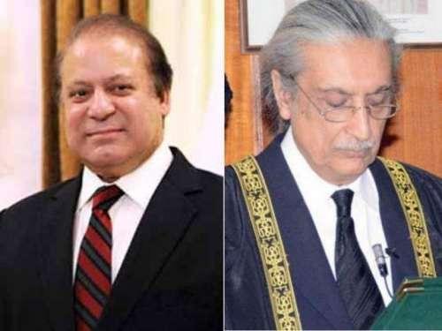 چیف جسٹس آف پاکستان نے وزیراعظم ..