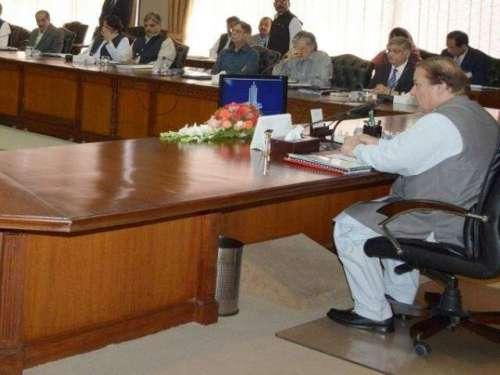 وفاقی کابینہ کا اجلاس، بھارت ..