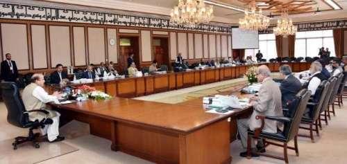 وفاقی کابینہ کا اجلاس ، نیشنل ..
