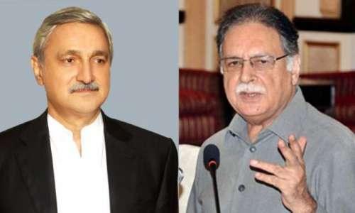 تحریک انصاف کے رہنماء جہانگیر ..