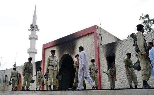 سپریم کورٹ میں لال مسجد آپریشن ..