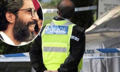اسلام آباد : عمران فاروق قتل ..