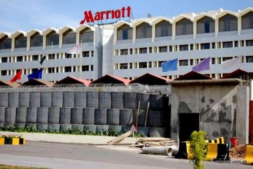 اسلام آباد میریٹ ہوٹل پر چھاپہ، ..