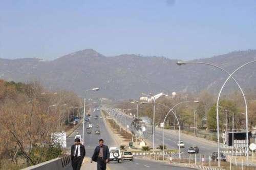 اسلام آباد میں سیکورٹی فورسز ..