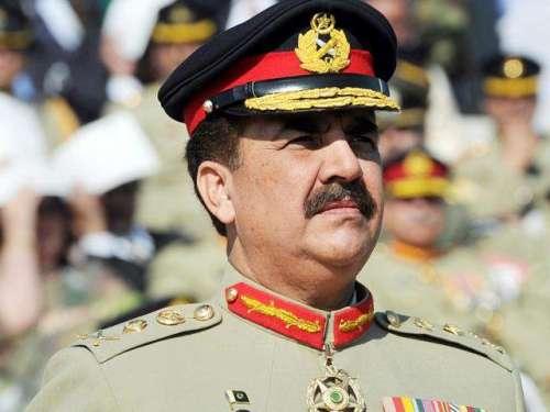 آرمی چیف جنرل راحیل شریف کی دہشتگردی ..