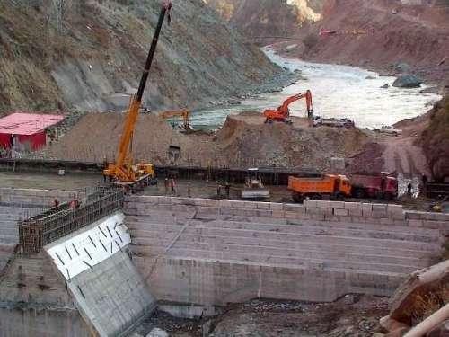 نیلم جہلم منصوبے کا 73فیصد تعمیراتی ..