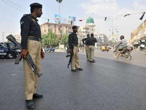 کراچی پولیس کا شہر سے تمام نوگو ..