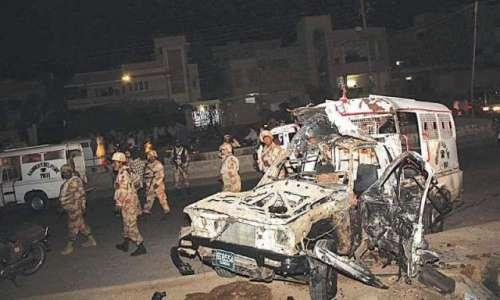 کراچی میں ناردرن بائی پاس کے ..