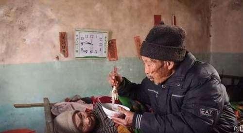 محبت ہو توایسی۔84 سالہ  شوہر 56 ..