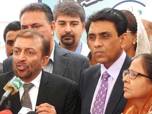 کراچی : رینجرز چھاپوں پر ریلی ..