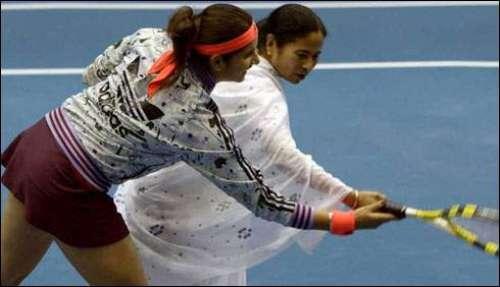 بھارتی ٹینس سٹار ثانیہ مرزا ..