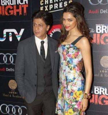 بالی ووڈ کنگ شاہ رخ خان اور خوبرواداکارہ ..