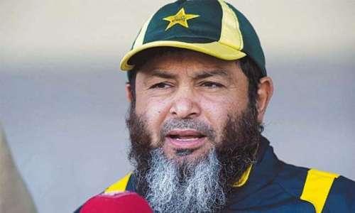 قومی ٹیم کے بولنگ کوچ مشتاق احمد ..