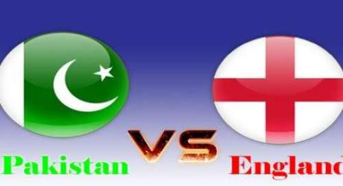 پاکستان اورانگلینڈکی ٹیموں ..
