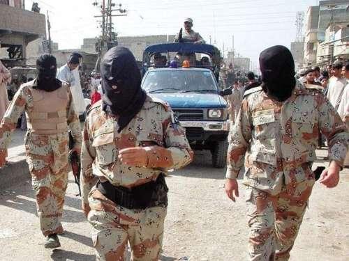 کراچی میں 4 غیرملکی دہشت گرد ..