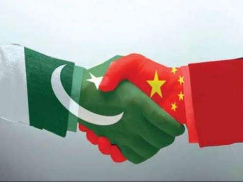 چین کا ملک کے مشرقی حصے کو پاکستان ..