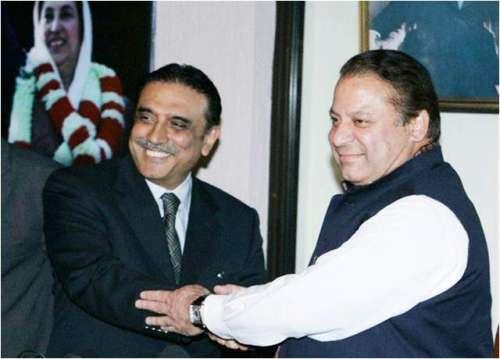 پیپلزپارٹی نے آصف علی زرداری ..