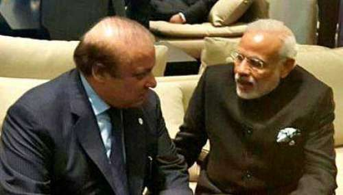 بھارتی وزیراعظم کیساتھ ملاقات ..
